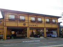 *外観/二百年以上の歴史がある純和風旅館。
