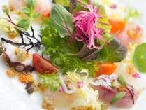 フレンチレストラン「ペルゴーラ」オードブル一例