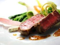 鎌倉フレンチ 肉料理一例