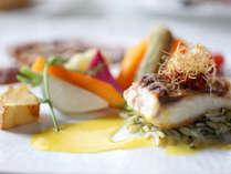 フレンチ魚料理 一例