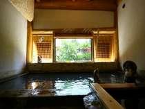 【貸切家族風呂】源泉39度のぬるめの温泉です。広いのでお子様が遊べます♪
