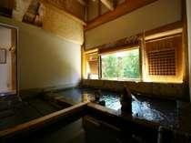 【貸切家族風呂】源泉39度のぬるめの温泉です。宿泊者の方は200円(入湯税)で利用可。