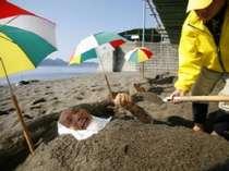 【砂むし温泉「砂湯里」】潮風を浴びながらの砂むしは最高です☆