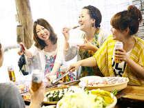 【BBQ広場】皆で食べるバーベキューは格別!!