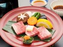 美味し~い食材をプラス♪  岩手県名産【前沢牛】 陶板焼きプラン
