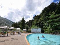 【夏限定】今年もプール営業します!お部屋から水着でそのままGO♪チェックイン前のご利用も可能です!