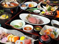 【部屋食プラン】新鮮な地魚と国産牛メインの和食膳(クチコミ評価◎)をお部屋で!カップルにもおすすめ♪