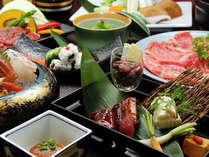 四季おりおりの旬の食材をお楽しみください。
