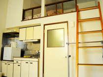 お子様にも嬉しいメゾネットタイプ♪※キッチンは使用できません!