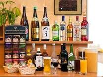 夕方のハッピーアワーはビールも一杯サービス!!