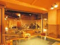 *天然温泉で疲れをさっぱり流してください。
