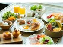 オールデーダイニングカメリア朝食(和洋ブッフェ)郷土料理、自家製ベーカリーなど充実♪