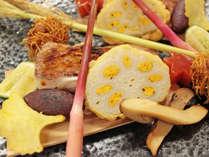 【秋の季替わり会席】甘鯛若狭焼きにイチョウを添えて。(写真はイメージ)
