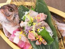 【鯛堪能懐石コース】鯛のお造りでございます※写真はイメージです