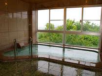 【男湯】播磨平野を一望できる広々とした展望風呂です