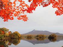 紅葉の大沼公園