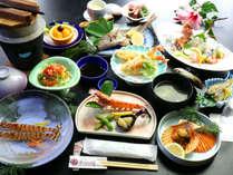 『特別企画エビづくし』のお料理一例天草のおいしい海老料理が味わえる期間限定プラン!