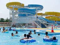 屋外プールは7月20日正午オープン、9月1日まで営業予定♪ご宿泊者は滞在中使えるプール券を進呈!