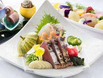 【四季の和食会席】毎日、新鮮な食材を使っておりますので、お献立はお任せくださいませ。※写真はイメージ