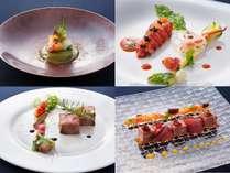 イタリアンとフレンチの見事な融合!一皿一皿まるで絵画のようなイタリアンフレンチ。