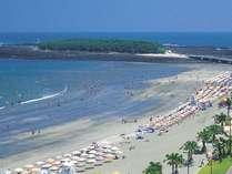 青島海水浴場◆お車で約2分・徒歩10分