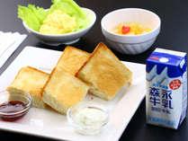 *朝食(軽食)一例/2019年10月~