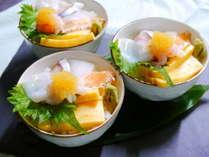 【夕食】◆海鮮丼◆お好みのお刺身をのせて自分だけの丼をお楽しみ下さい(イメージ)