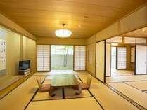 別館和室の一例です。明るいゆとりあるお部屋でお寛ぎ頂けます。