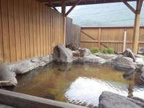 *【露天風呂】自家源泉100%かけ流し!自慢のお湯でリフレッシュ。