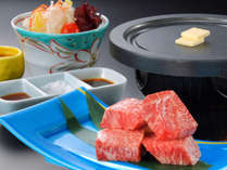 とろける舌触りが絶品の「前沢牛」をステーキでお召し上がり頂けます,