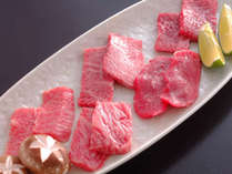 調理長が厳選した【いわてブランド牛】の食べ比べをお楽しみください,