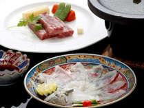 【黒毛和牛熱々陶板焼き&ふく刺】お肉にふくに。人気の2大グルメ満喫の味覚プラン&維新世界遺産巡り