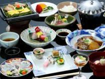 【鶴江・萩の七彩】お気軽献立、萩満喫。萩の地魚・長州名物「瓦そば」など旬の七品を食す♪
