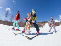 【お子様連れのご家族限定】ウエルカムファミリーのスキー場取得記念☆<リフト券付>1泊朝食付プラン