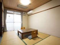 *客室例:和室6畳/コンパクトながら過ごしやすい和室のお部屋。*