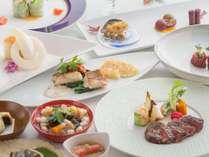 【郷土料理と創作フレンチで、会津の旬を味合う】※レストラン内ワンちゃん同伴可