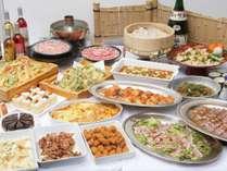 ■【ホテルビュッフェ】信州の郷土料理も楽しめるホテルビュッフェをご用意しております。