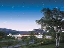 ■【自然に囲まれたリエックスホテル「夜」