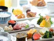 【朝食ブッフェ】和洋ブッフェ。