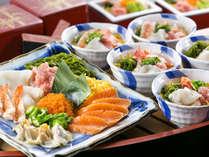 【夕食ブッフェ】和洋ブッフェのおすすめメニュー☆自分でのっける♪海の幸!'こしぇる丼'