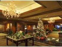 クリスマス装飾(ホテルロビー)