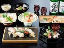 『すし柳美』【新潟和食と寿司会席】・朝食バイキング 2食付きプラン