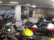 乾燥室を駐輪場として開放します。最大25台駐輪可能。(無料・到着順)