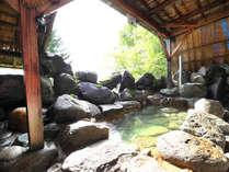 冬季でも入浴可能な展望風呂、もちろん温泉です!12:00~21:00 入浴可能です