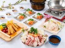 ・夕食一例:お料理はできる限り日替わりでご用意しております