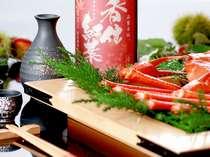 季節のネタを地酒で味わう(香住鶴)