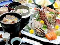海鮮釜飯付きの当館リピート率No.1の「お造り御膳」☆イチオシです!