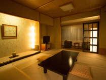 リニューアル済のアネックス和室タイプのお部屋です。広々とした禁煙和室でございます。