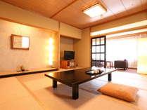 アネックス和室12畳のお部屋です。禁煙ですのでお子様連れにも安心してご利用頂けます。