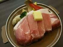 【別注料理】ポークの陶板焼き